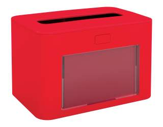 Papernet Ready Table Serviettenspender in rot