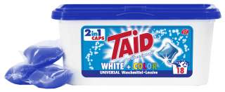 Taid white+color 2in1 Waschmittel Caps